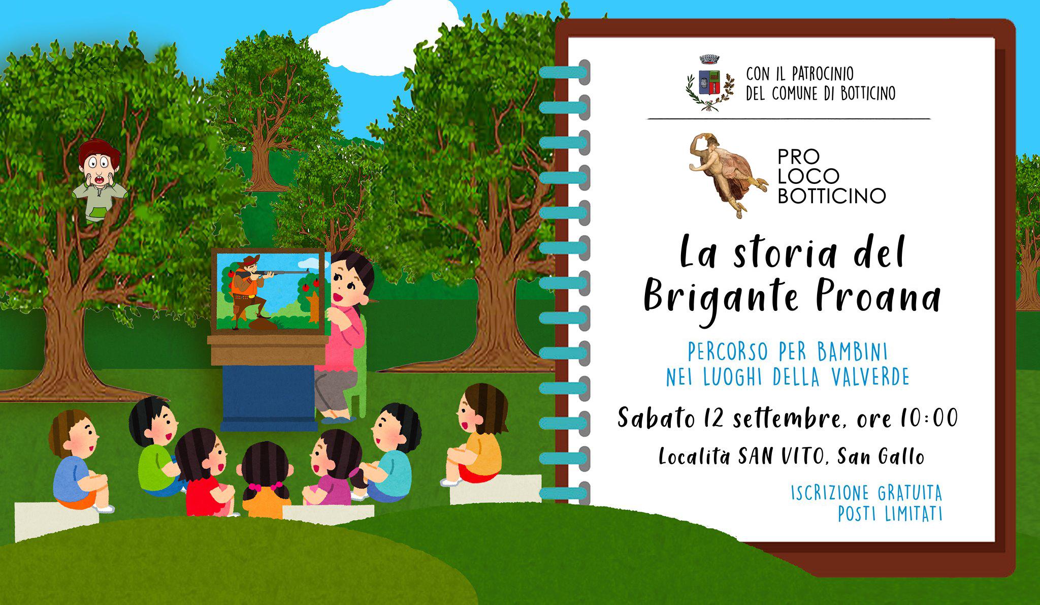 Pro Loco Botticino - La storia del Brigane Proana